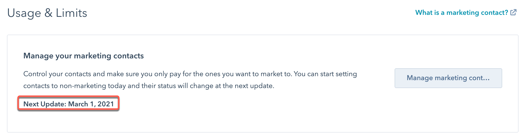 next-update-date-marketing-contacts